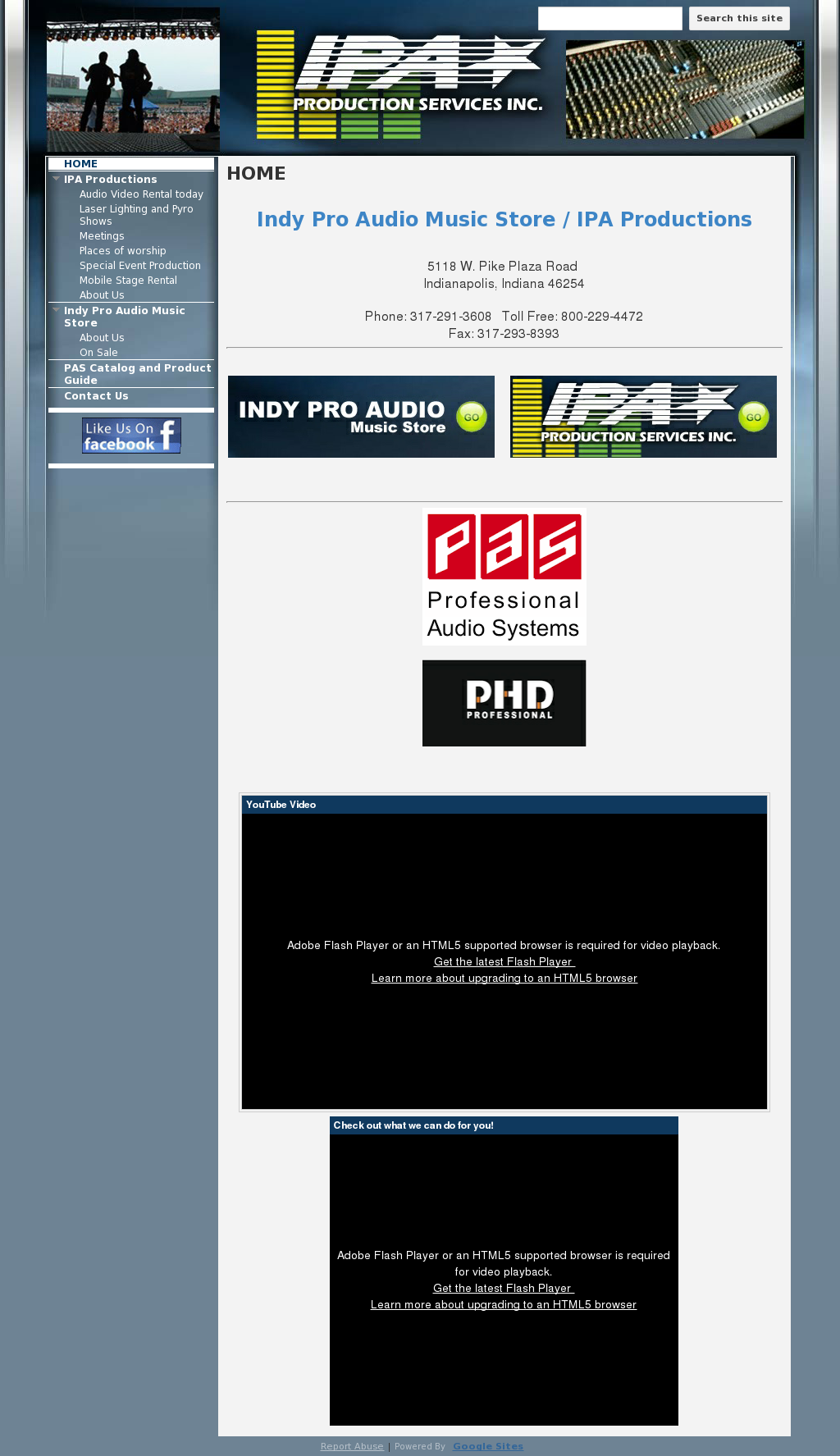 Indy Pro Audio Music Store Competitors, Revenue and