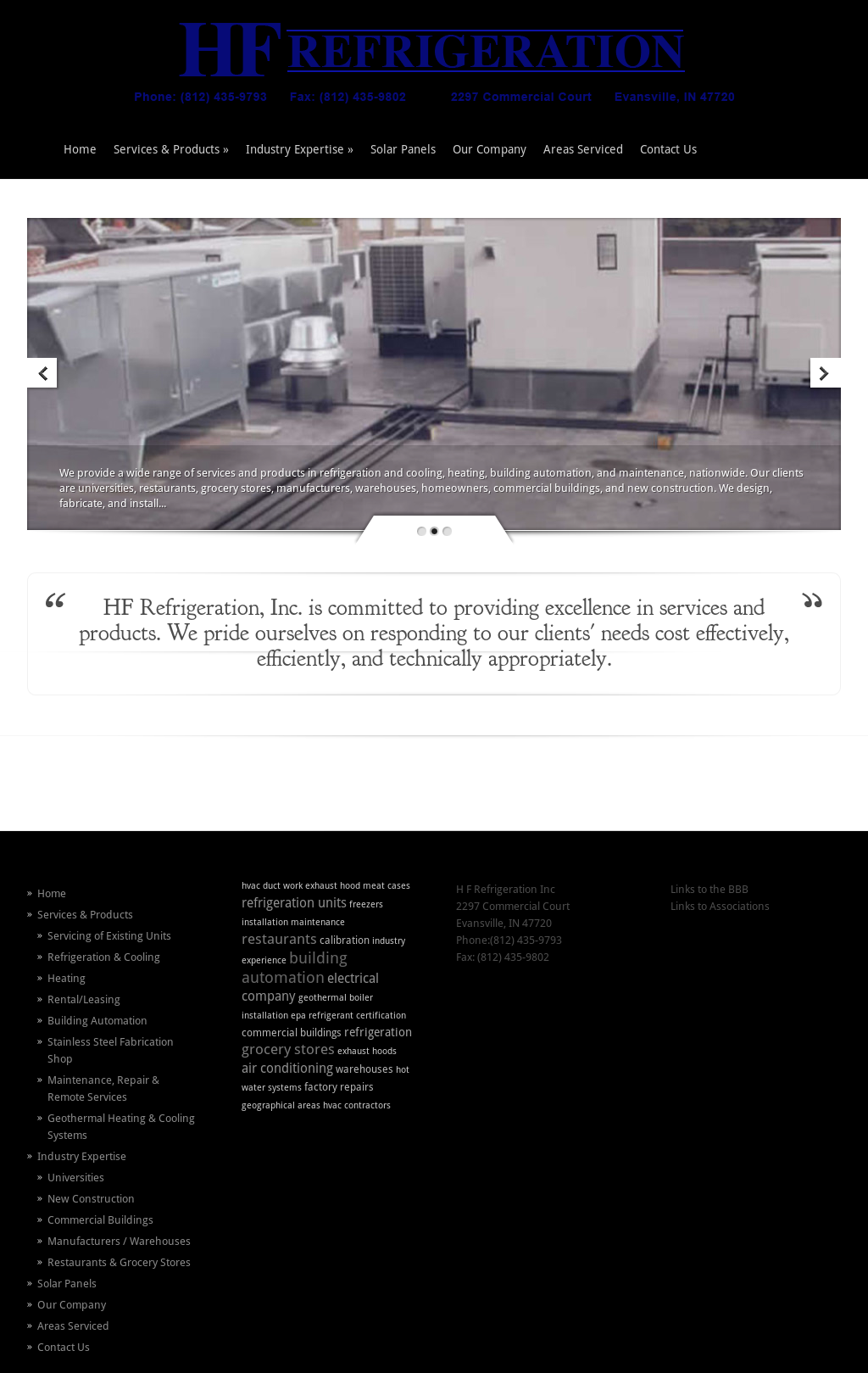 H f refrigeration competitors revenue and employees owler company h f refrigeration website history malvernweather Images