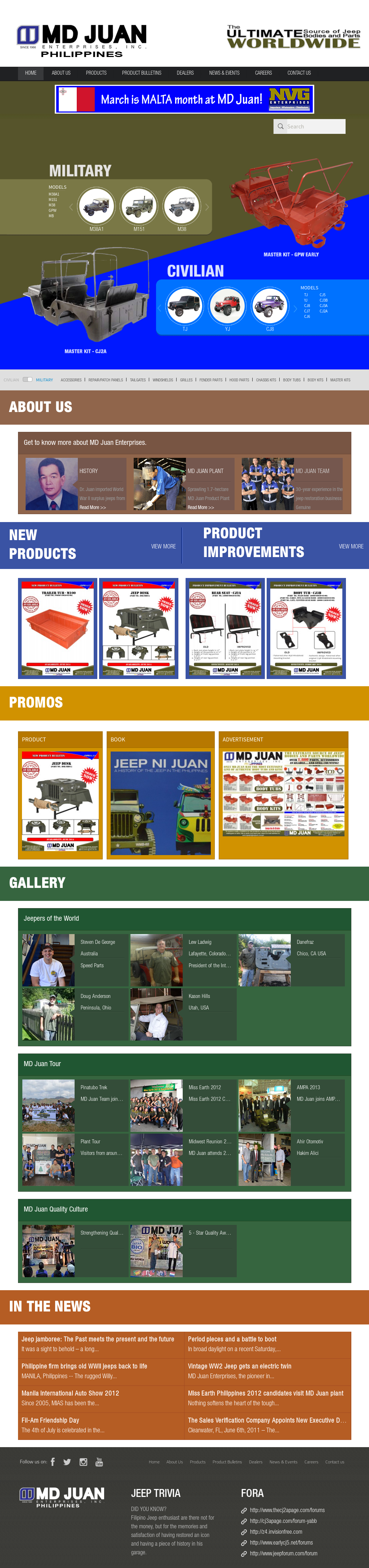 Md Juan Jeep Kits
