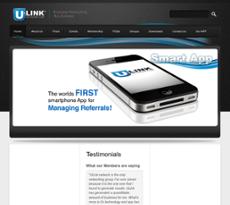 uLinkNetwork website history
