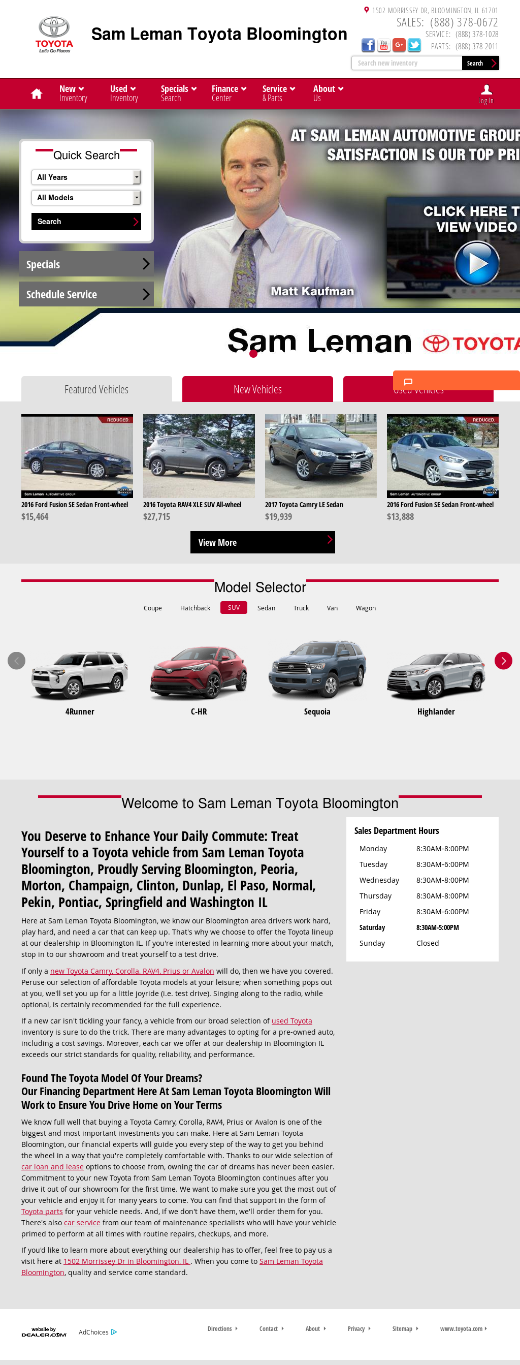 Used Cars Bloomington Il