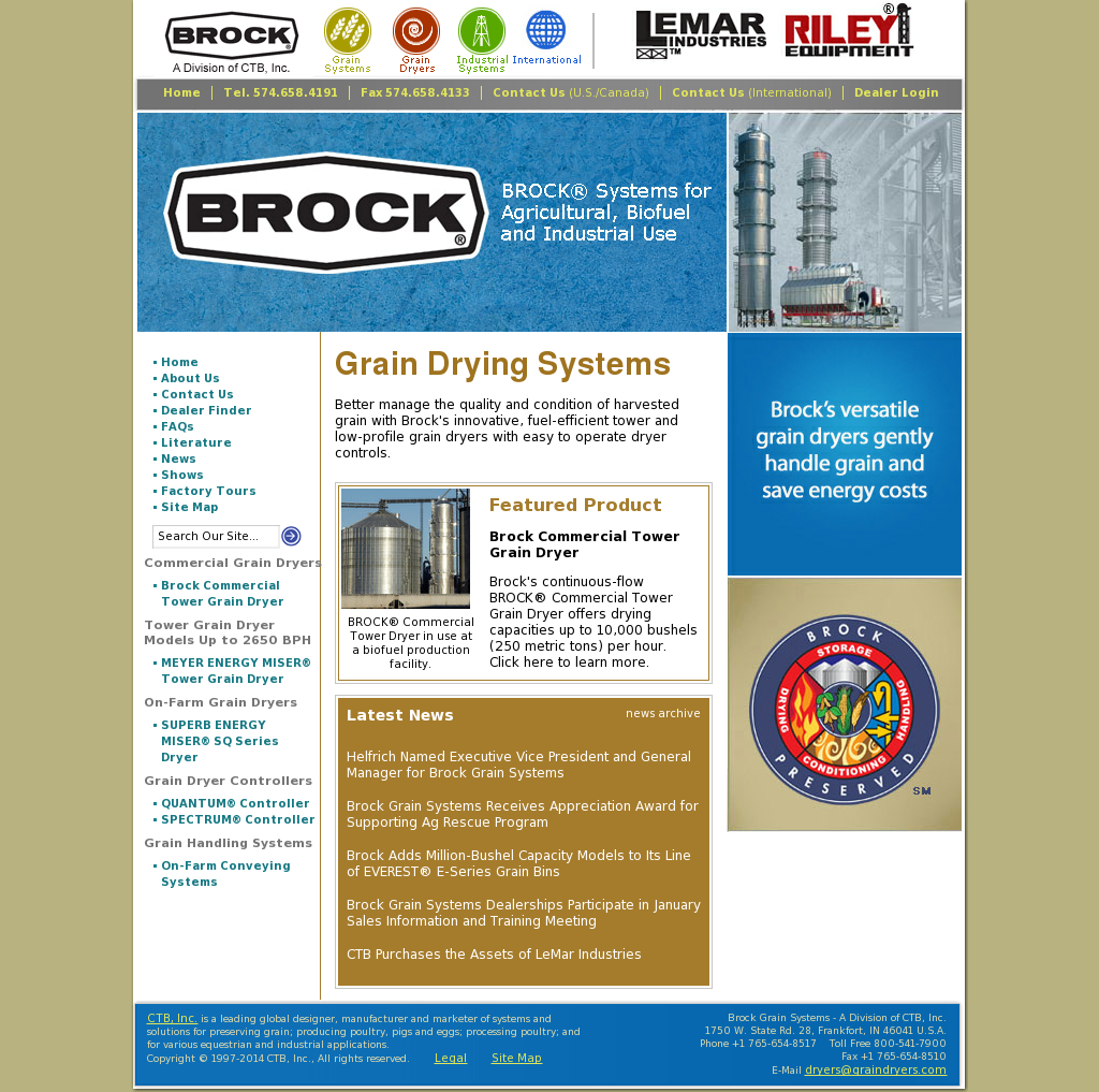 Brock Grain Conditioning Group Competitors, Revenue and Employees
