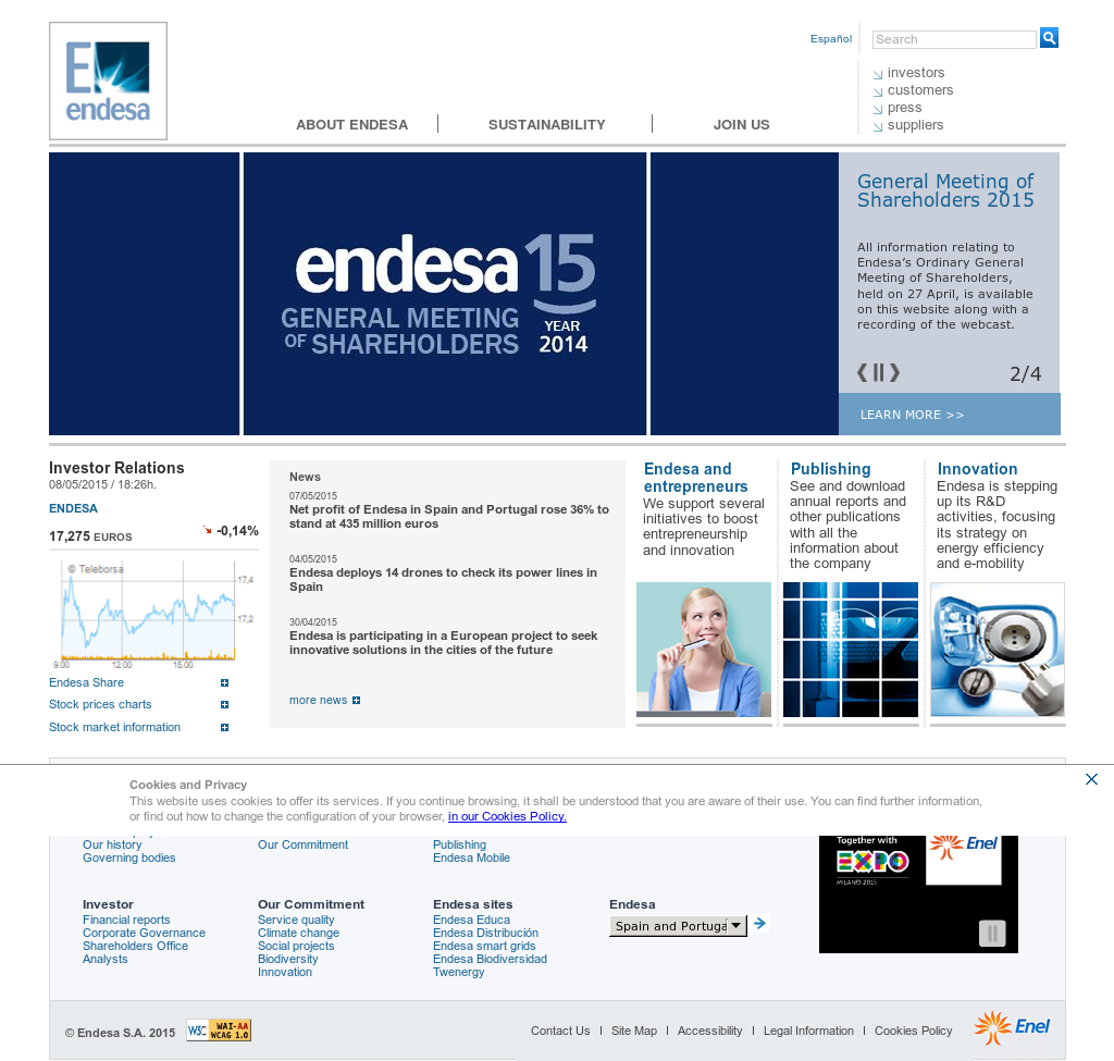 Endesa spain online dating