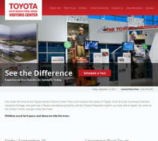 Toyota Motor Manufacturing Indiana Website History