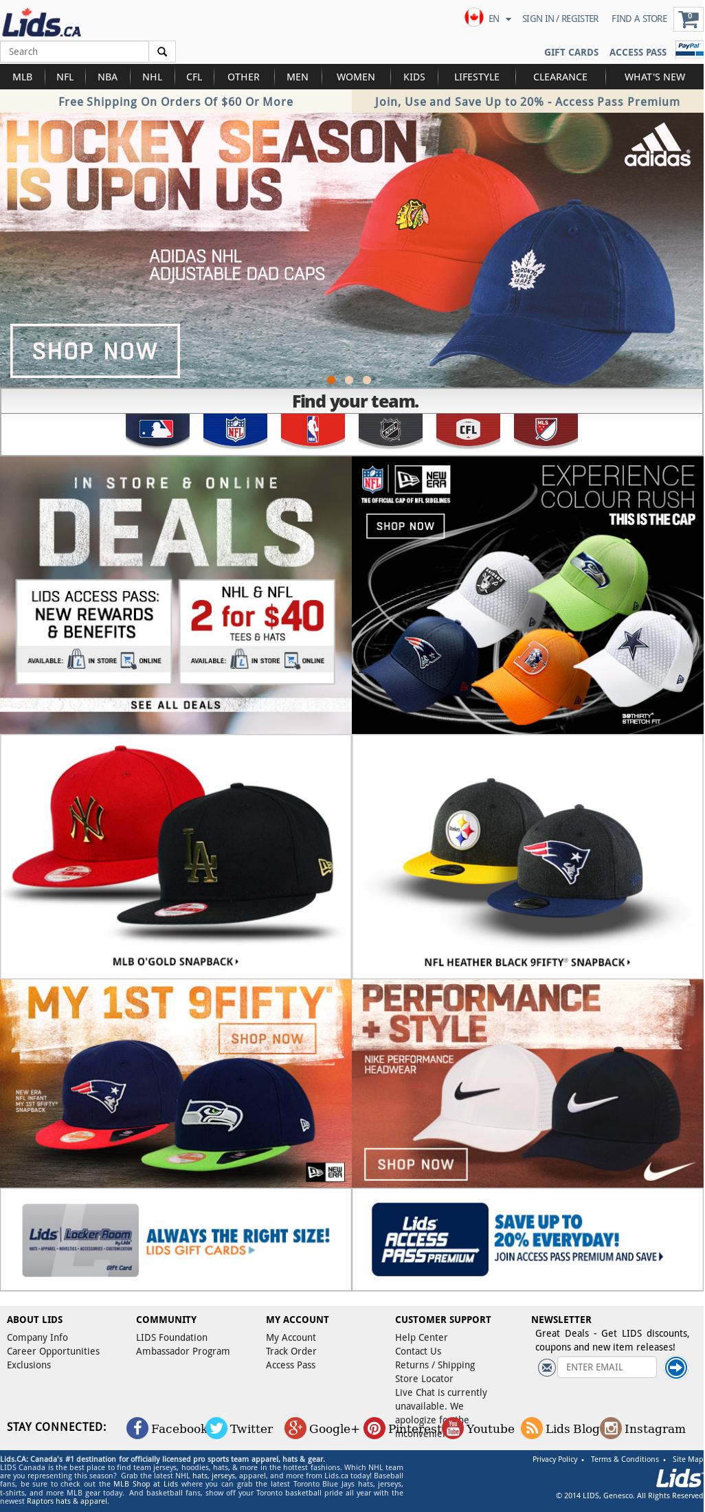 Lids Competitors, Revenue and Employees - Owler Company Profile