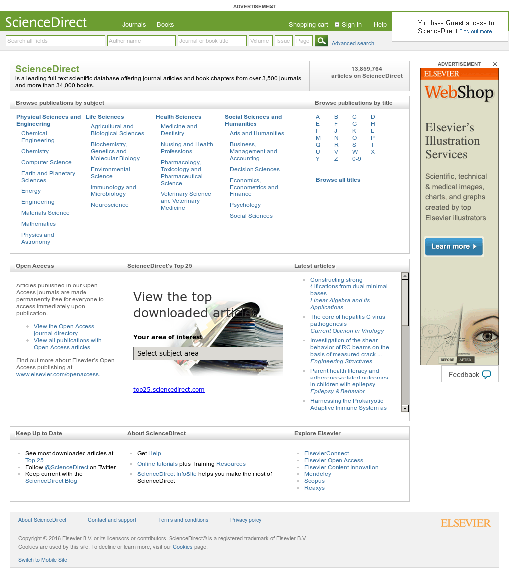 ScienceDirect Competitors, Revenue and Employees - Owler