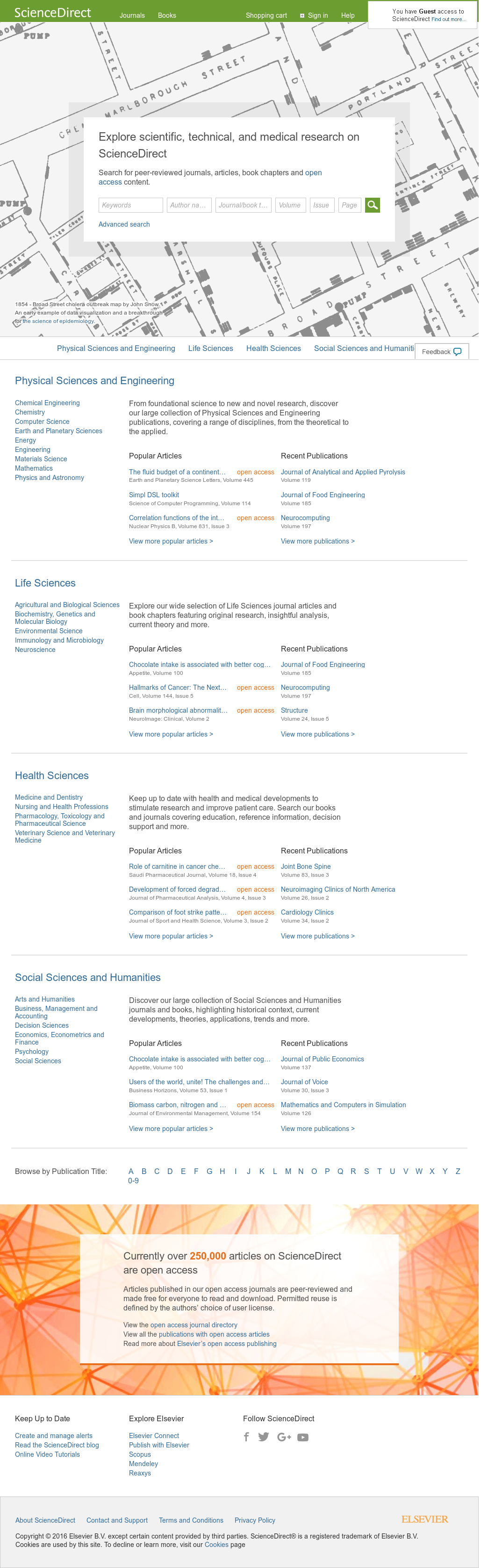 ScienceDirect Competitors, Revenue and Employees - Owler Company Profile