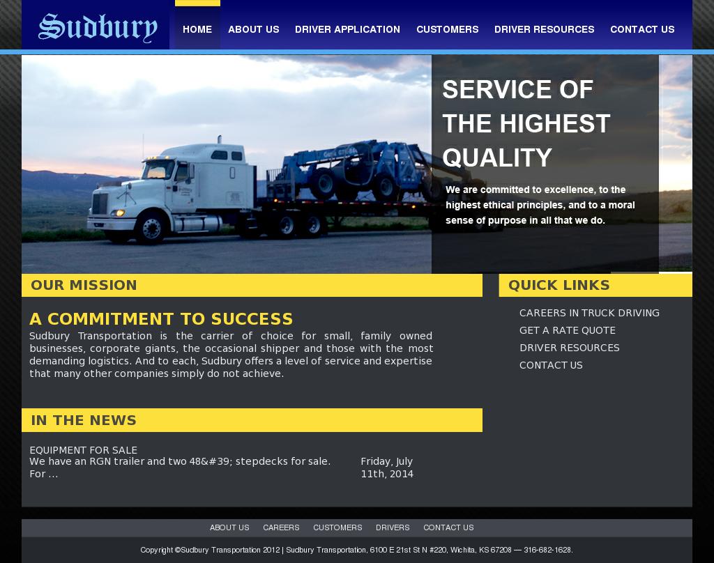Sudbury Transportation Competitors, Revenue and Employees