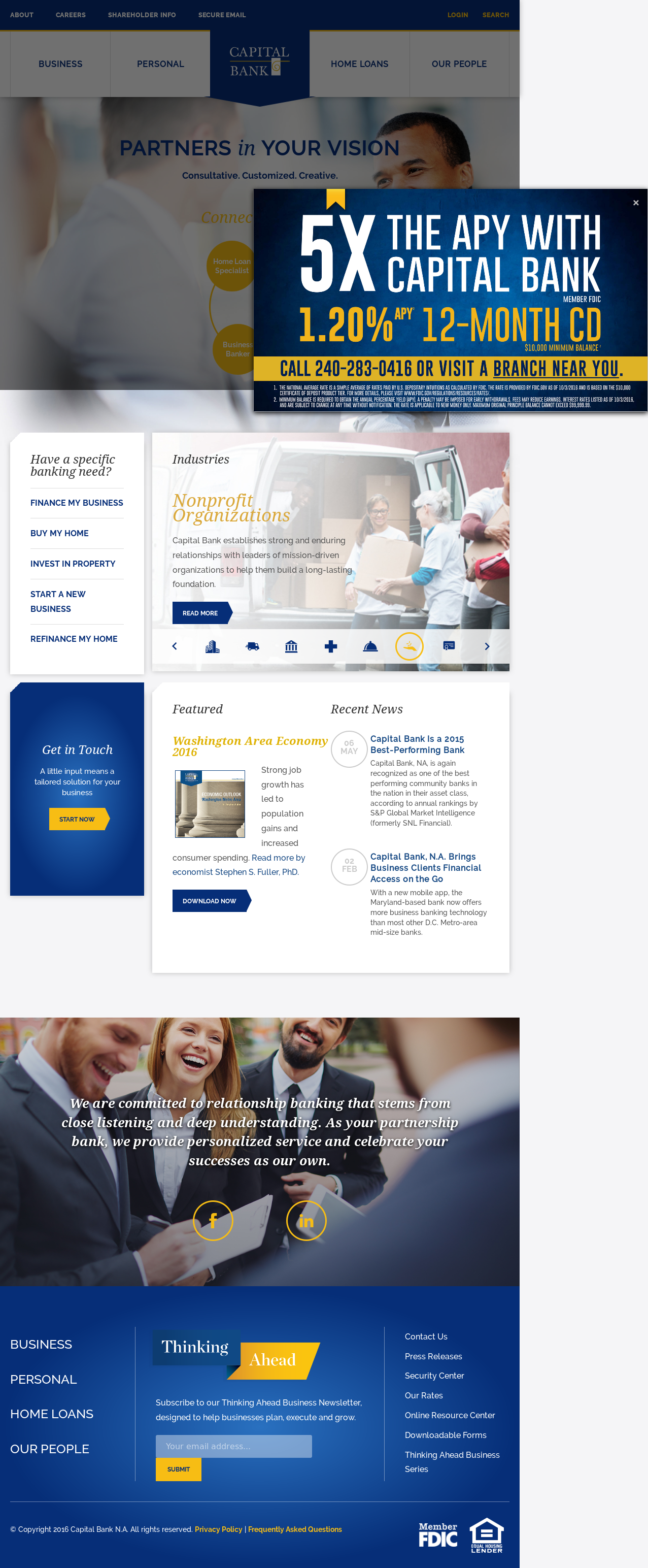Capitalbankmd Competitors, Revenue and Employees - Owler