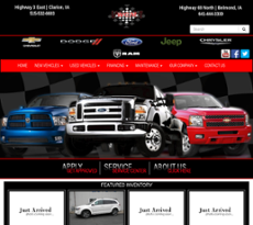 Wright County Motors website history