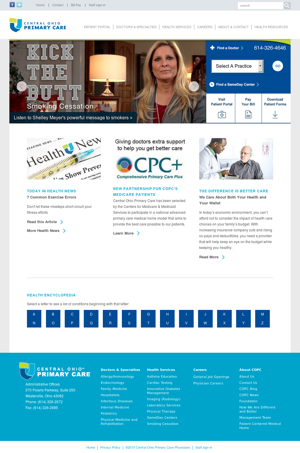 Central Ohio Primary Care Competitors, Revenue and Employees