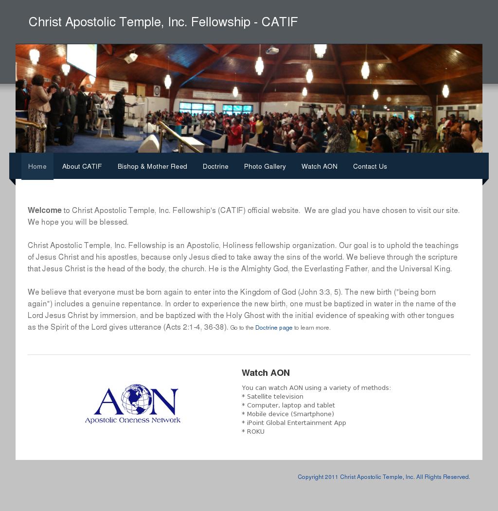 Christ Apostolic Temple Inc , Fellowship Competitors