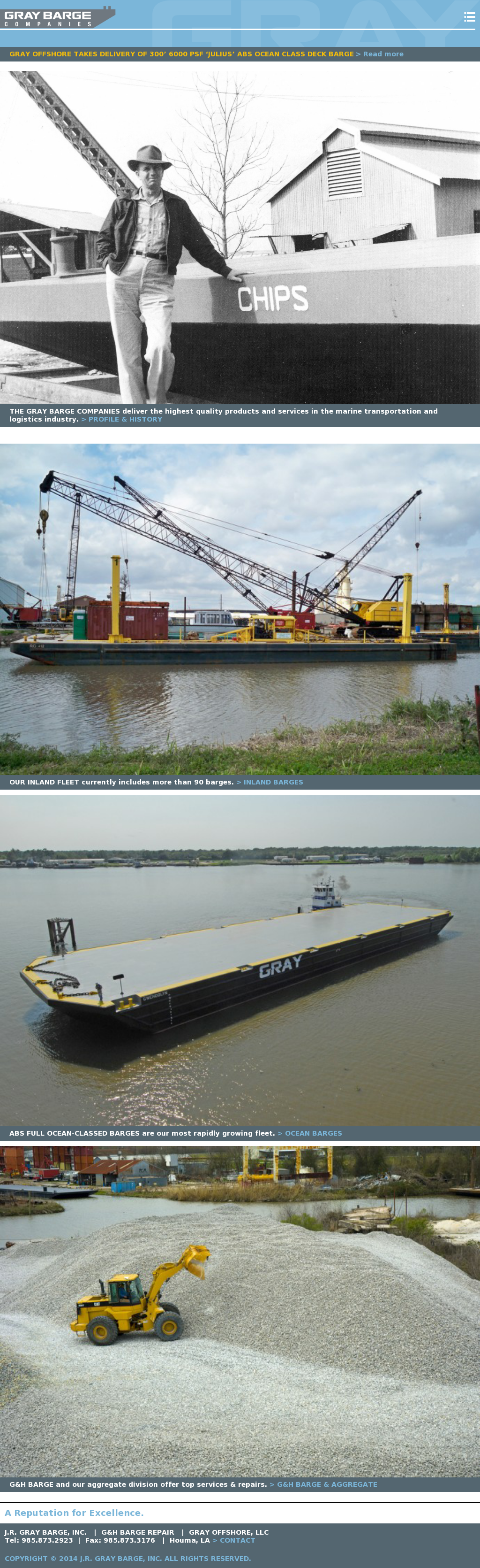 G & H Barge Repair & Fabrication Competitors, Revenue and