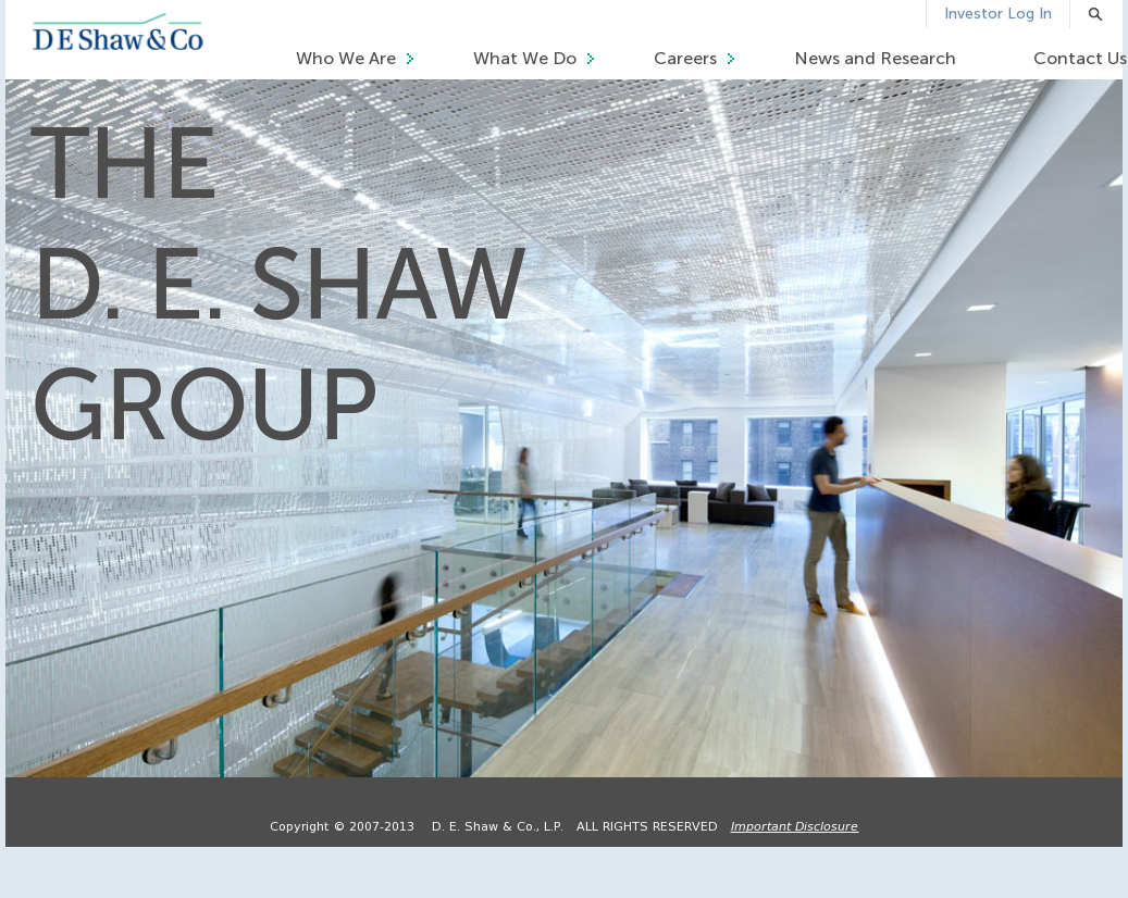 D  E  Shaw Competitors, Revenue and Employees - Owler