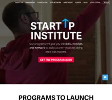 Startup Institute website history
