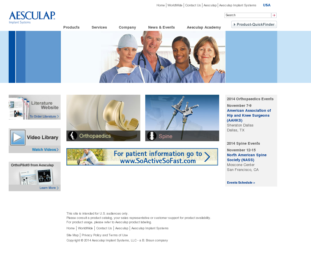 Aesculap Competitors, Revenue and Employees - Owler Company