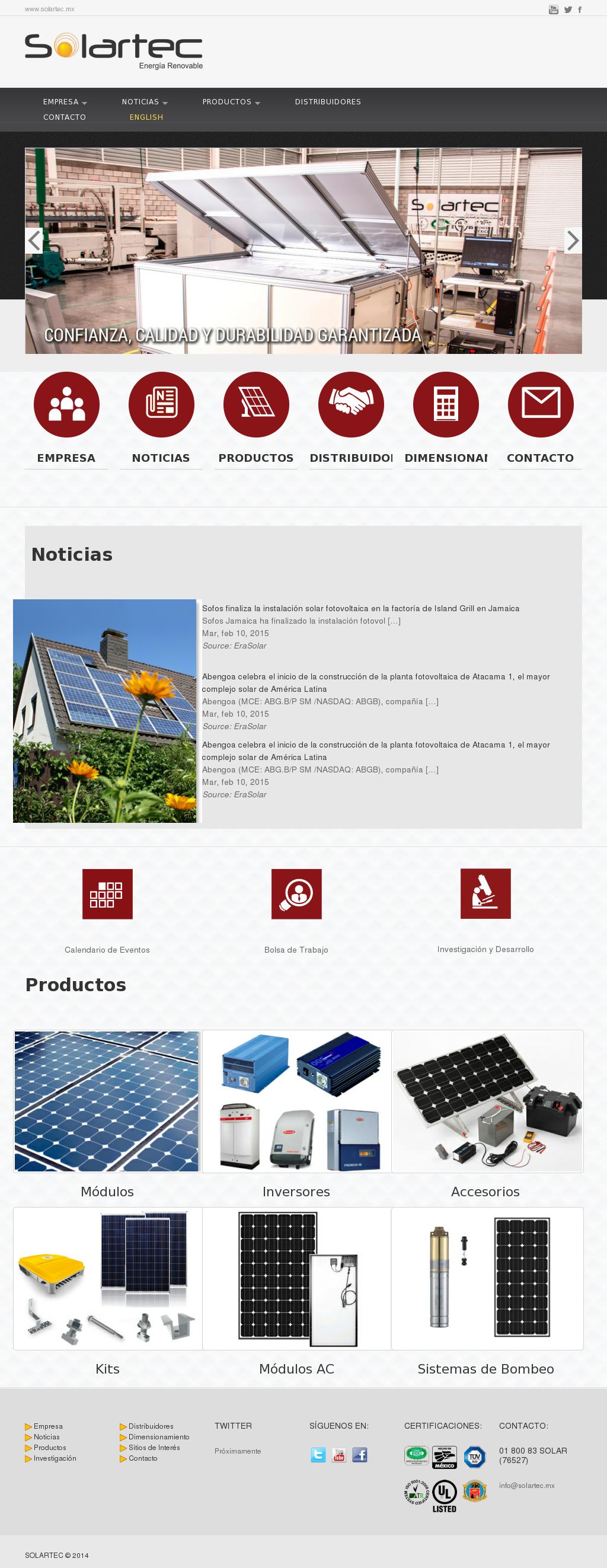Calendario Nasdaq.Solartec Competitors Revenue And Employees Owler Company