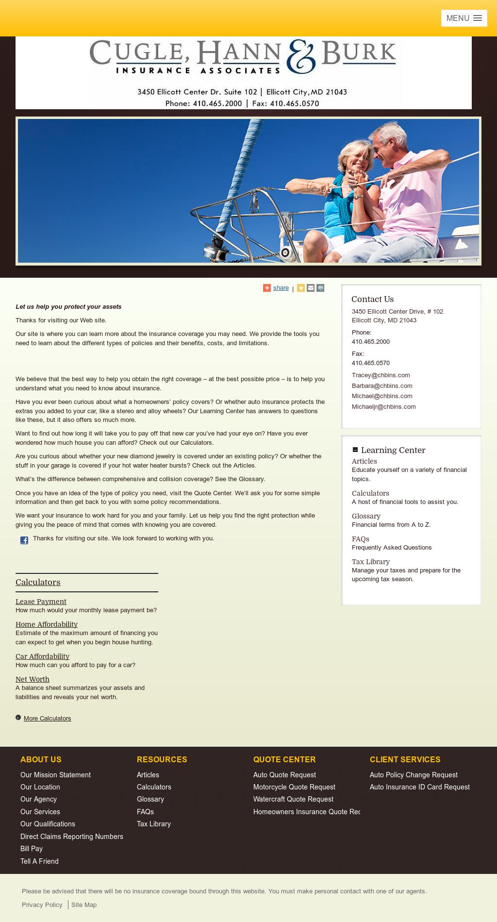 Cugle, Hann & Burk Insurance Associates Competitors, Revenue