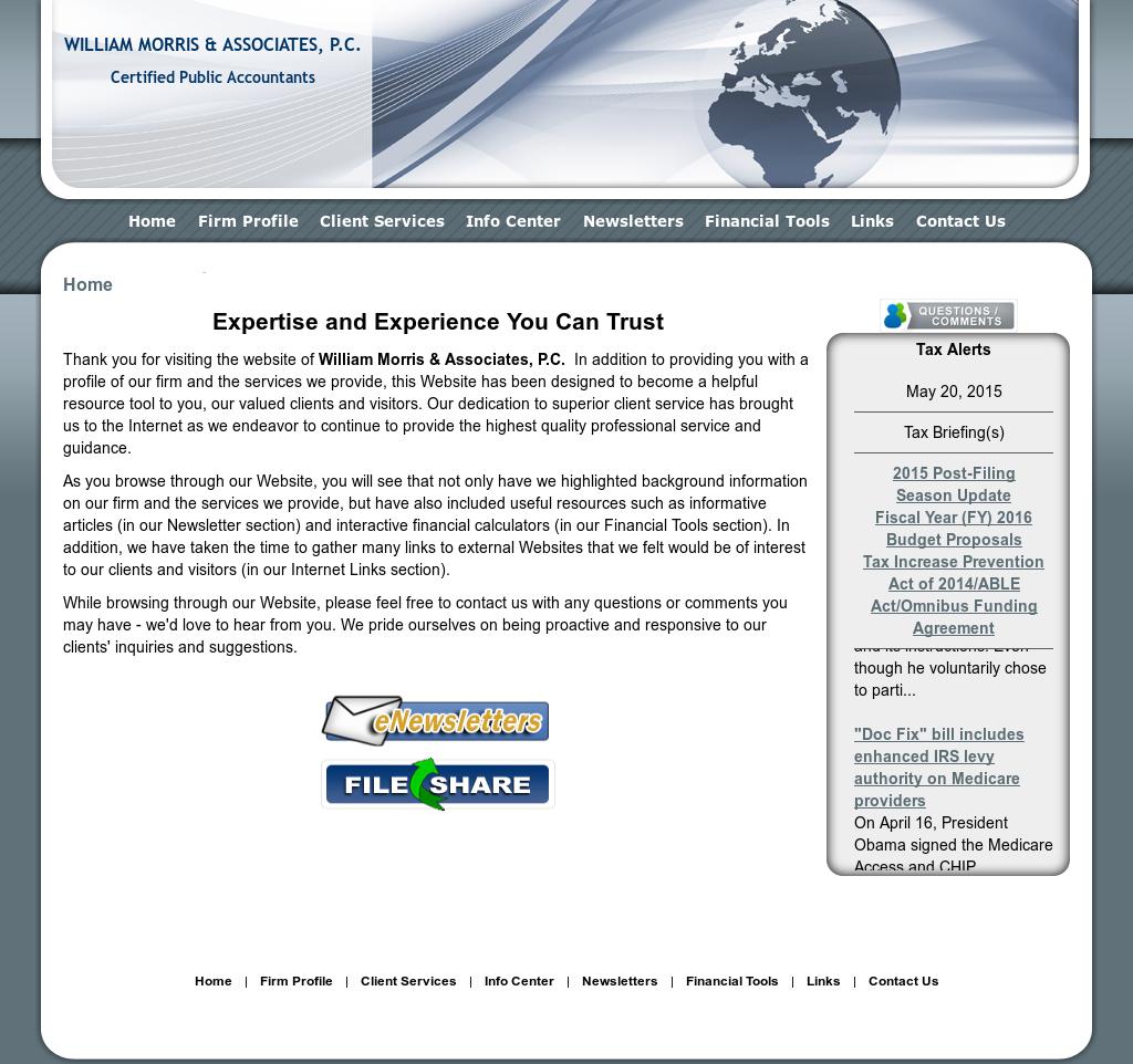 William Morris and Associates Competitors, Revenue and