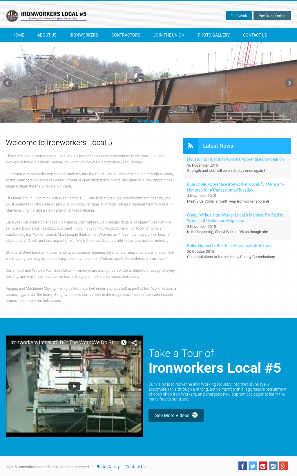 IronWorkers Local #5 Competitors, Revenue and Employees