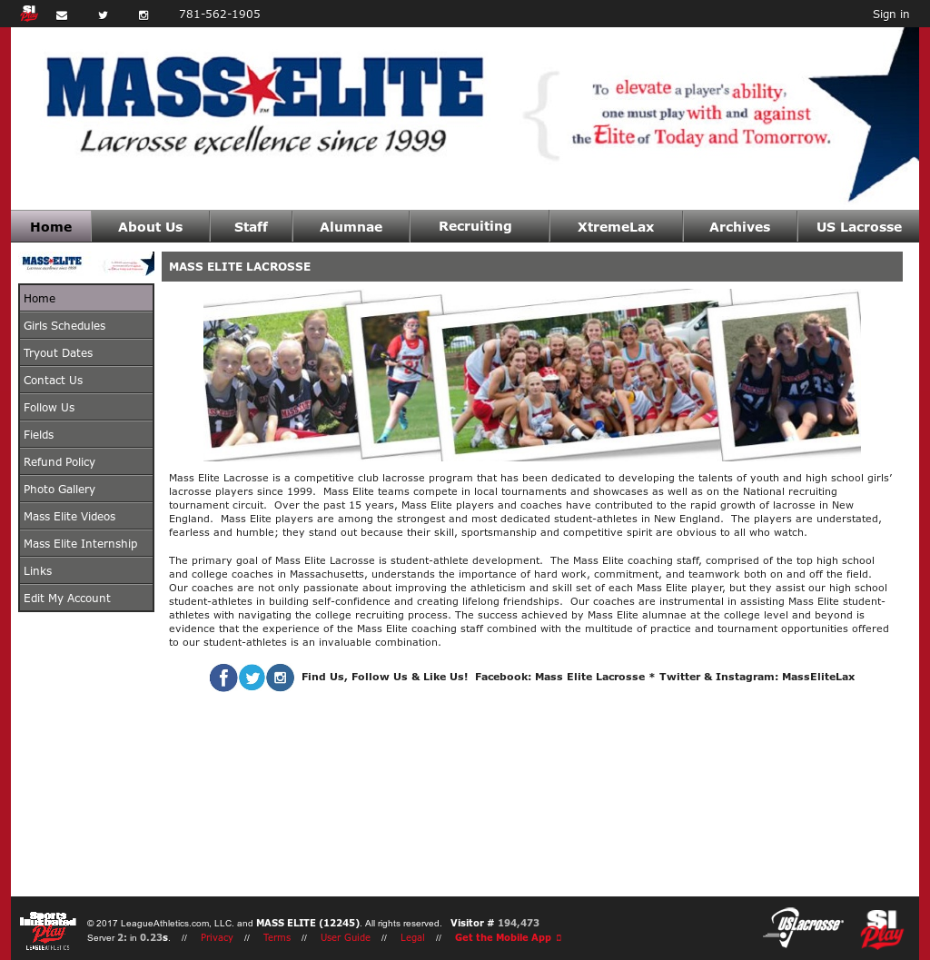 Mass Elite~Acheive LAX Competitors, Revenue and Employees