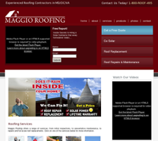 Lovely Maggio Roofing Website History