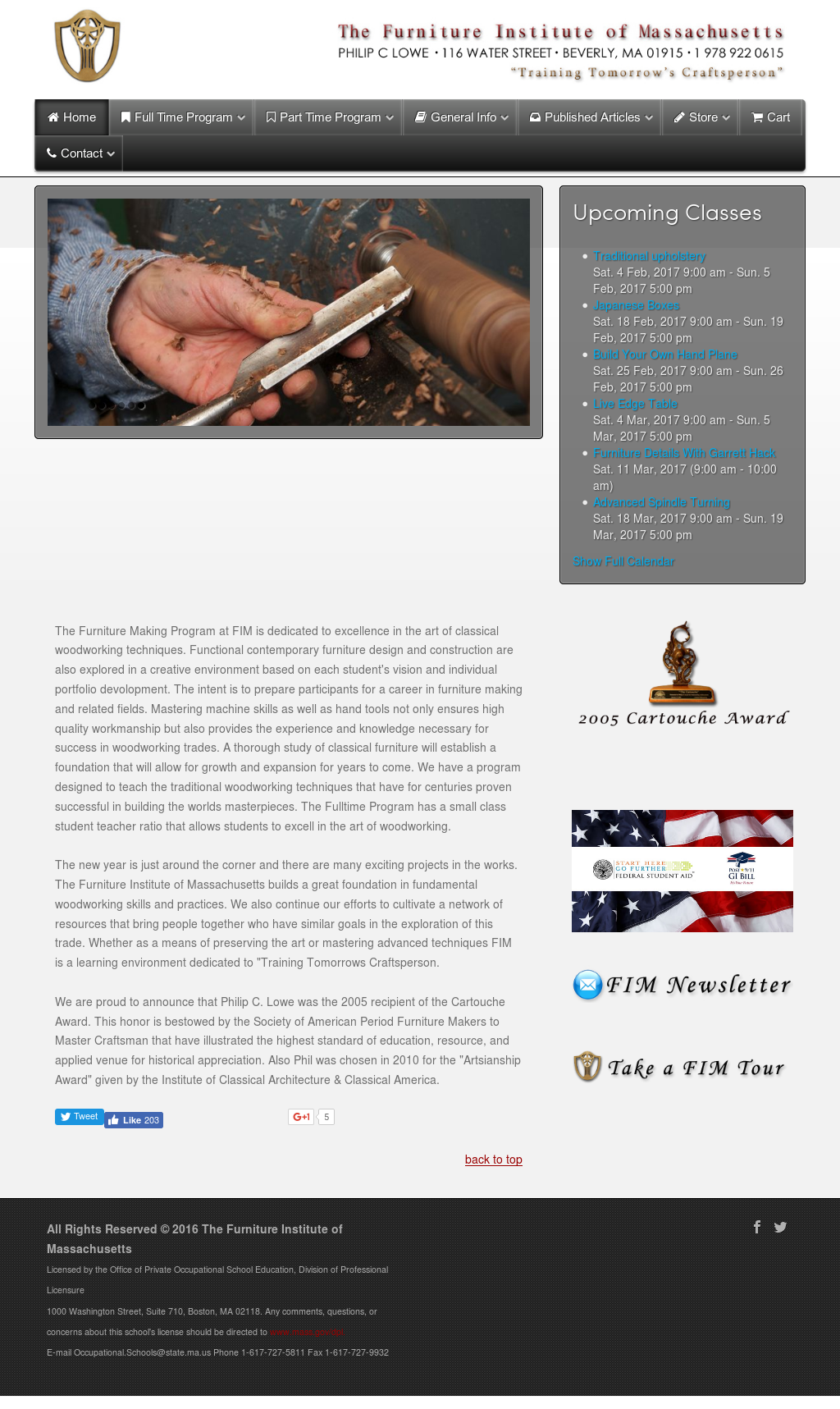Furniture Institute Of Massachusetts Competitors Revenue And