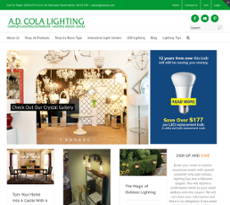 A D Cola Lighting Competitors, Revenue And Employees   Owler Company Profile