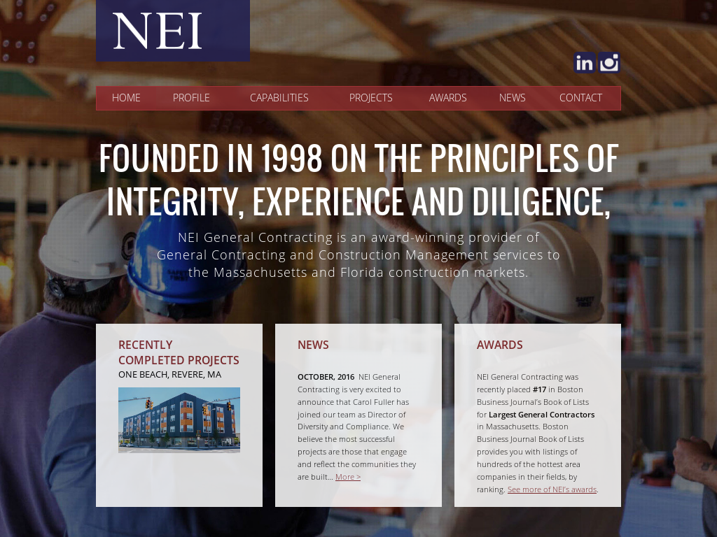 NEI General Contracting Competitors, Revenue and Employees