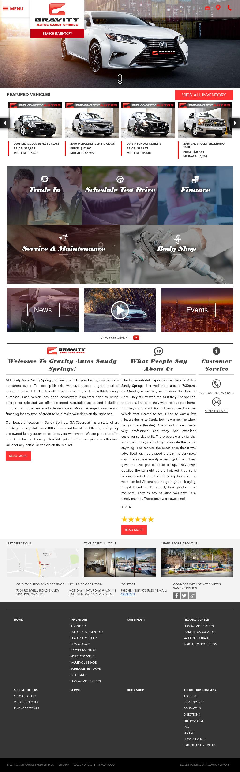 Gravity Auto Sandy Springs >> Gravity Autos Sandy Springs Competitors Revenue And
