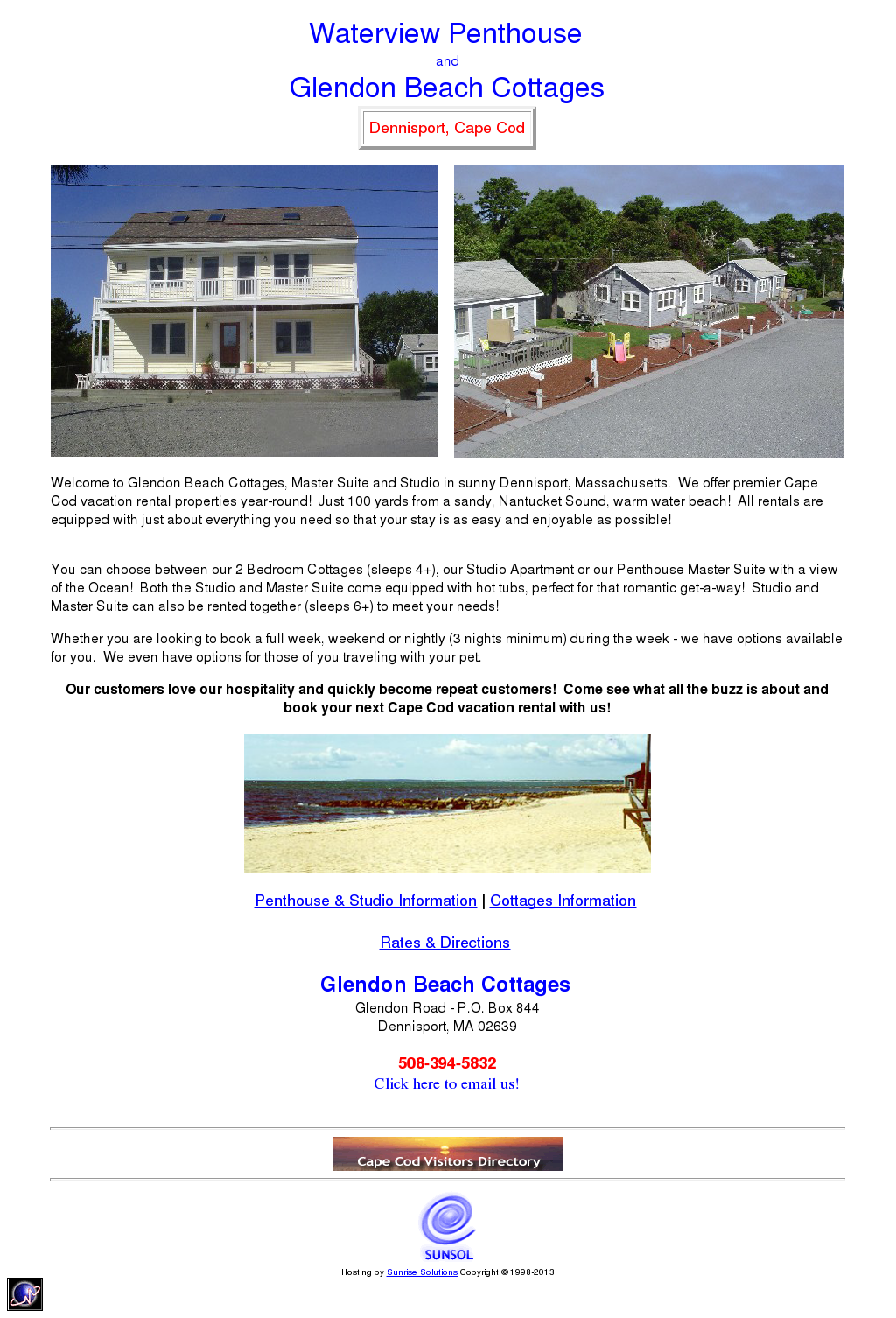 Glendon Beach Cottages Compeors Revenue And Employees Owler Company Profile