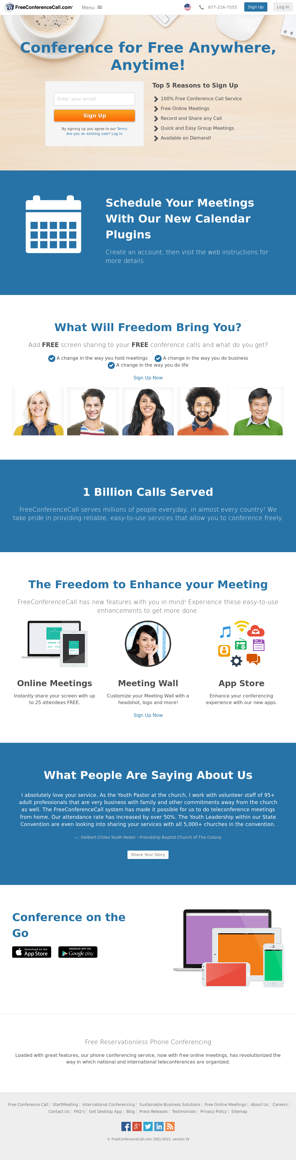 FreeConferenceCall Competitors, Revenue and Employees