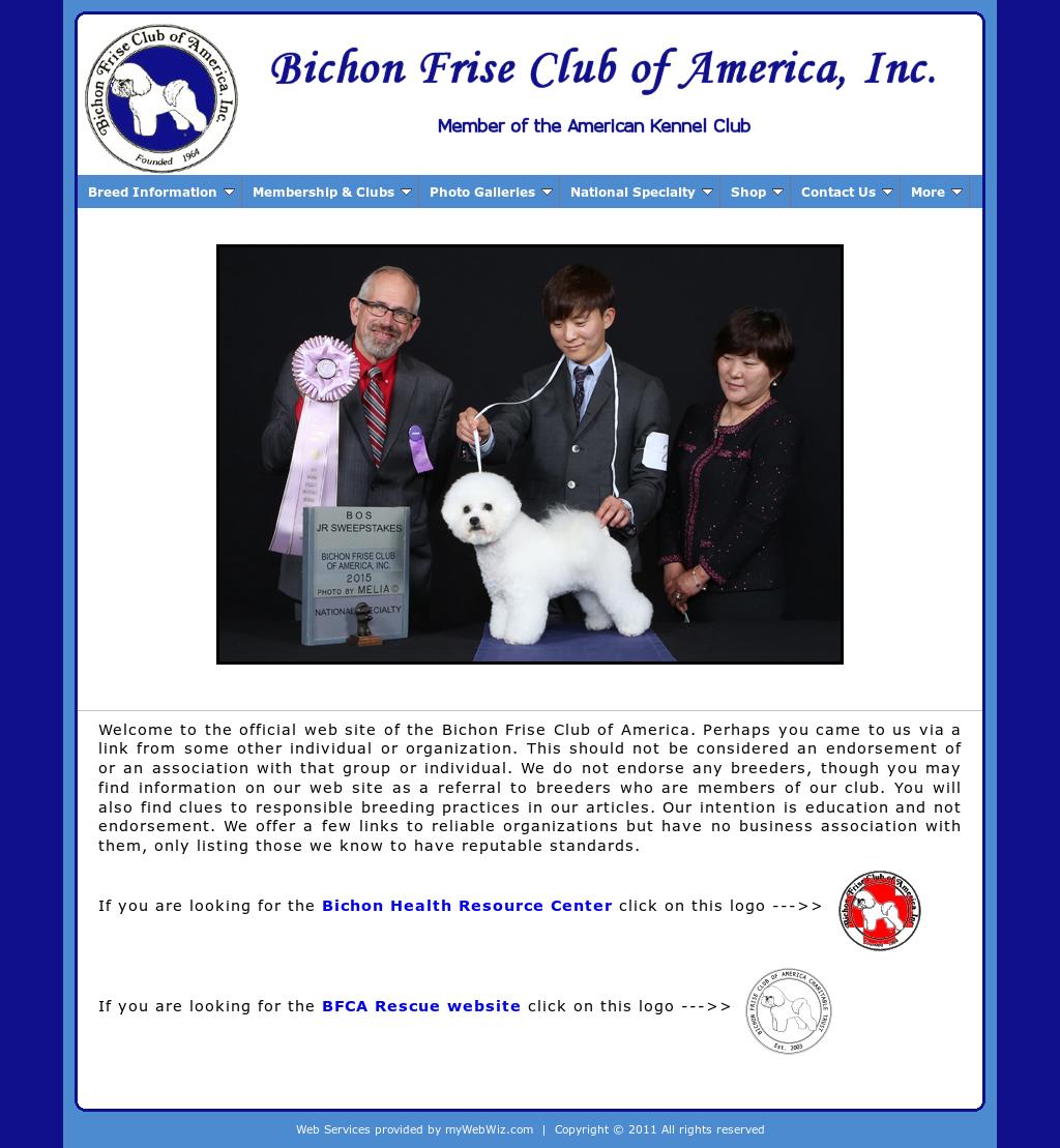 Bichon Frise Club of America Competitors, Revenue and