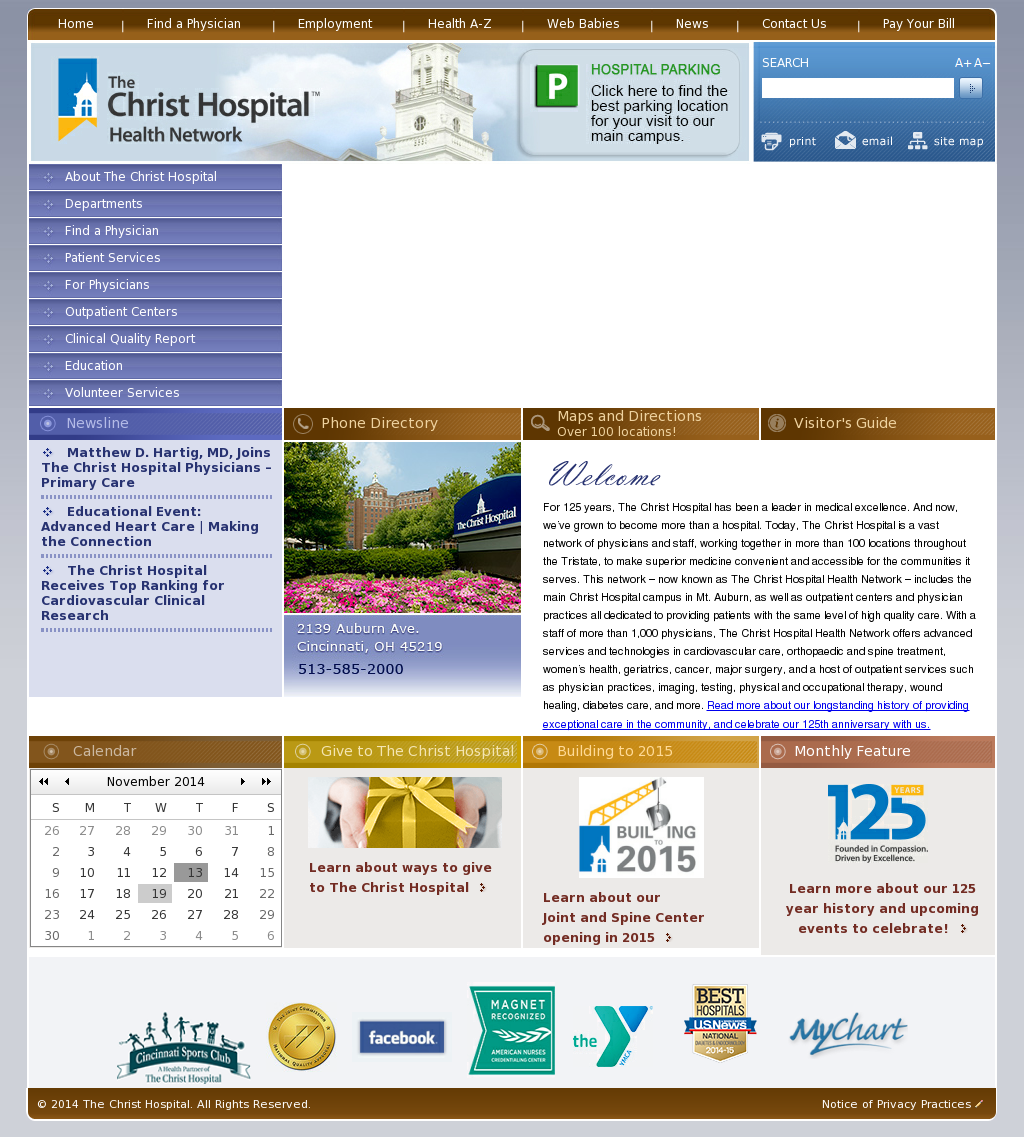The Christ Hospital Compeors Revenue And Employees Owler Company Profile
