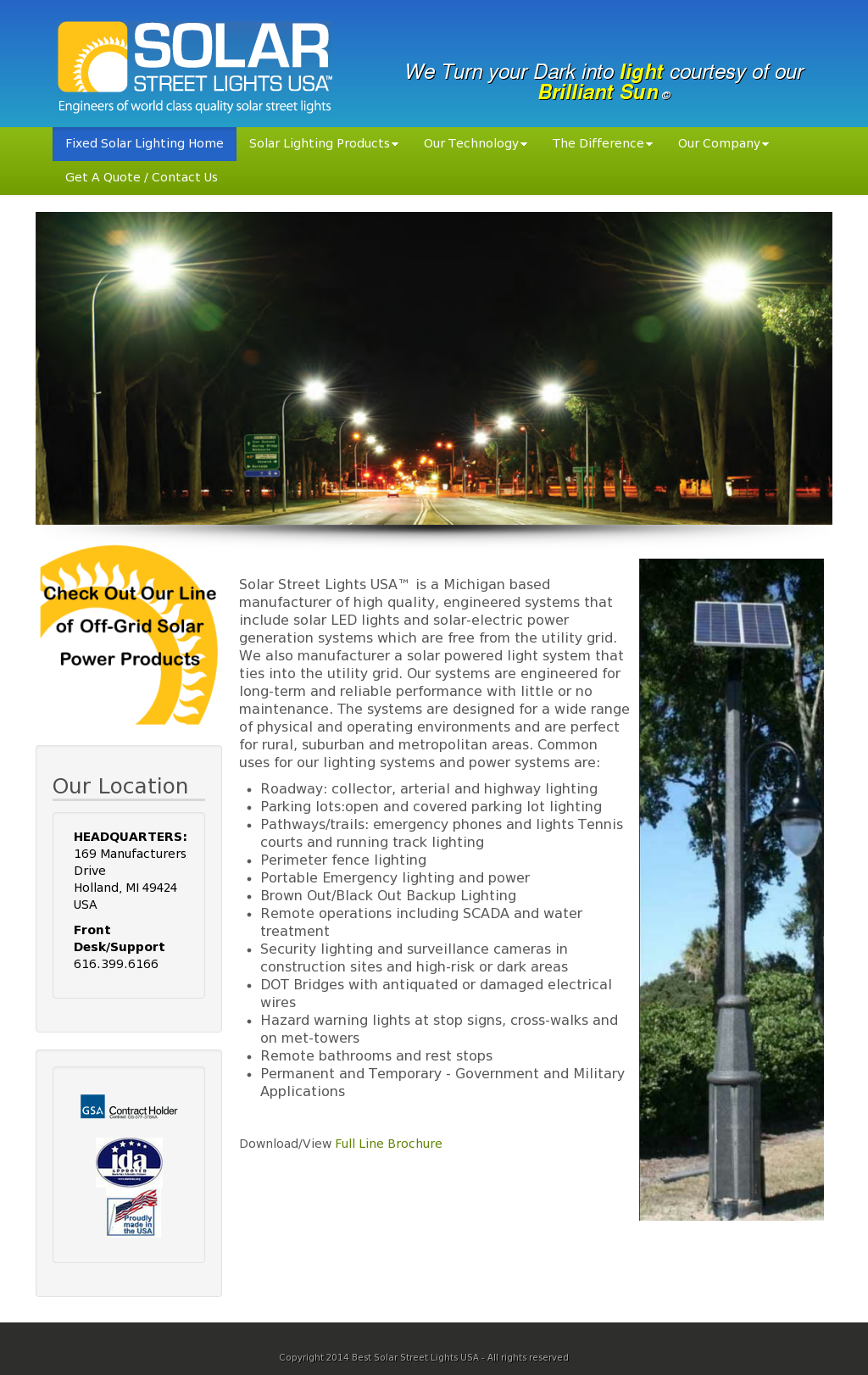 Solar Street Lights Usa Compeors Revenue And Employees Owler Company Profile