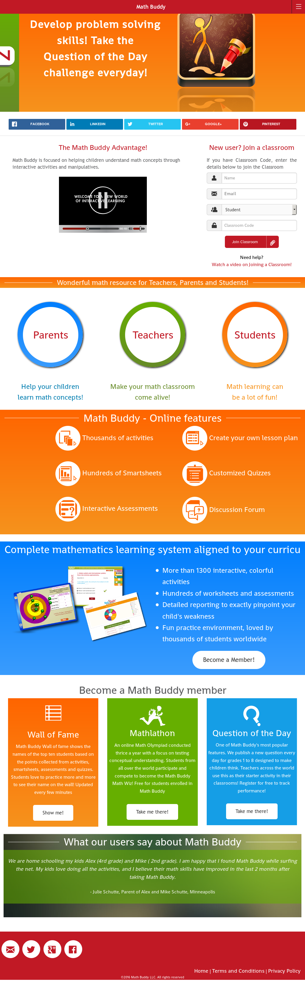 Math buddy Competitors, Revenue and Employees - Owler Company Profile