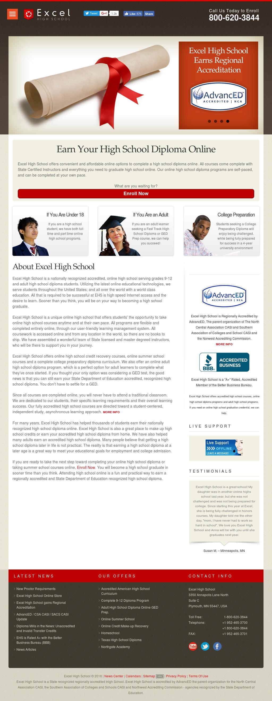 Excel High School College S