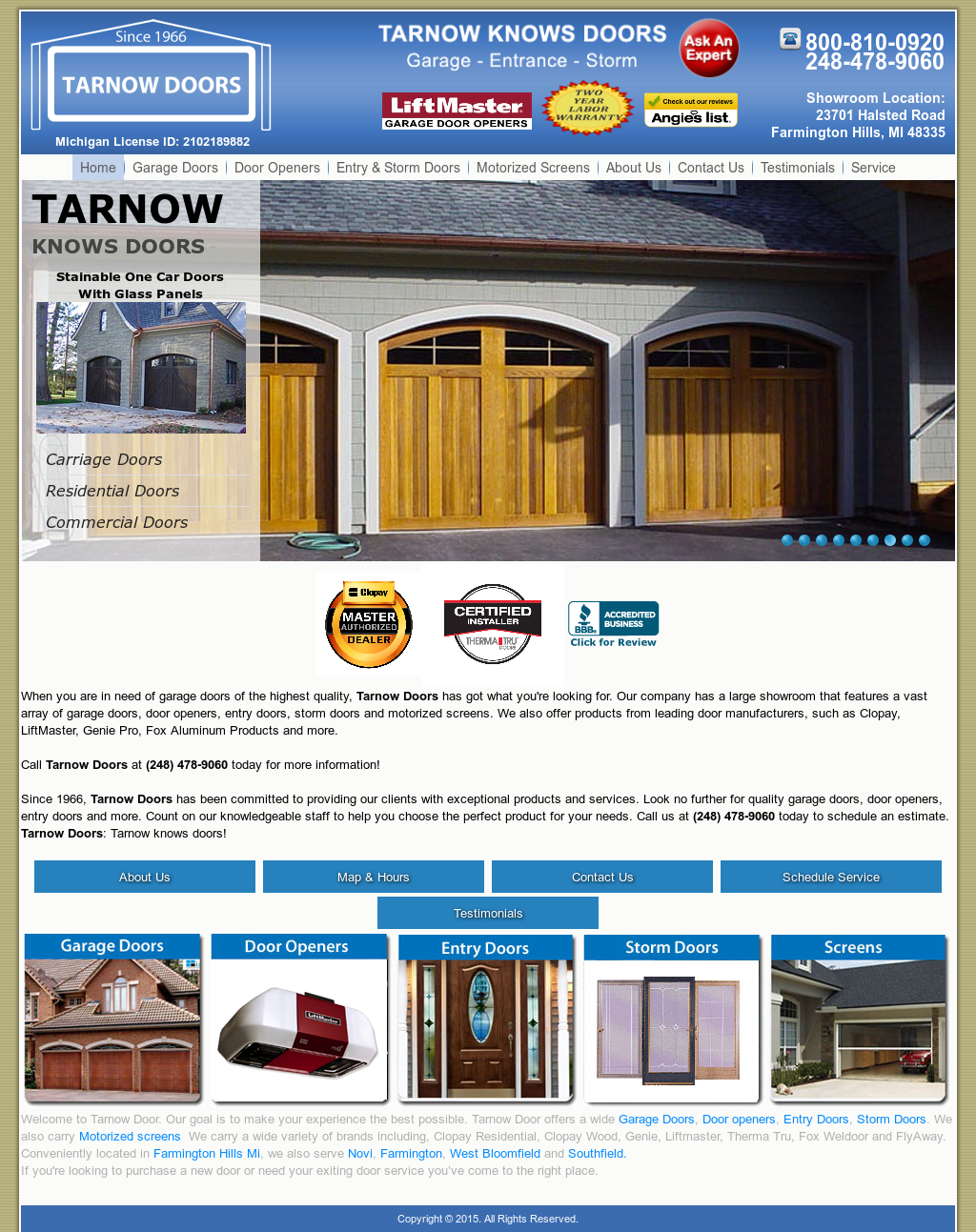 sc 1 st  Owler & Tarnow Doors Competitors Revenue and Employees - Owler Company Profile