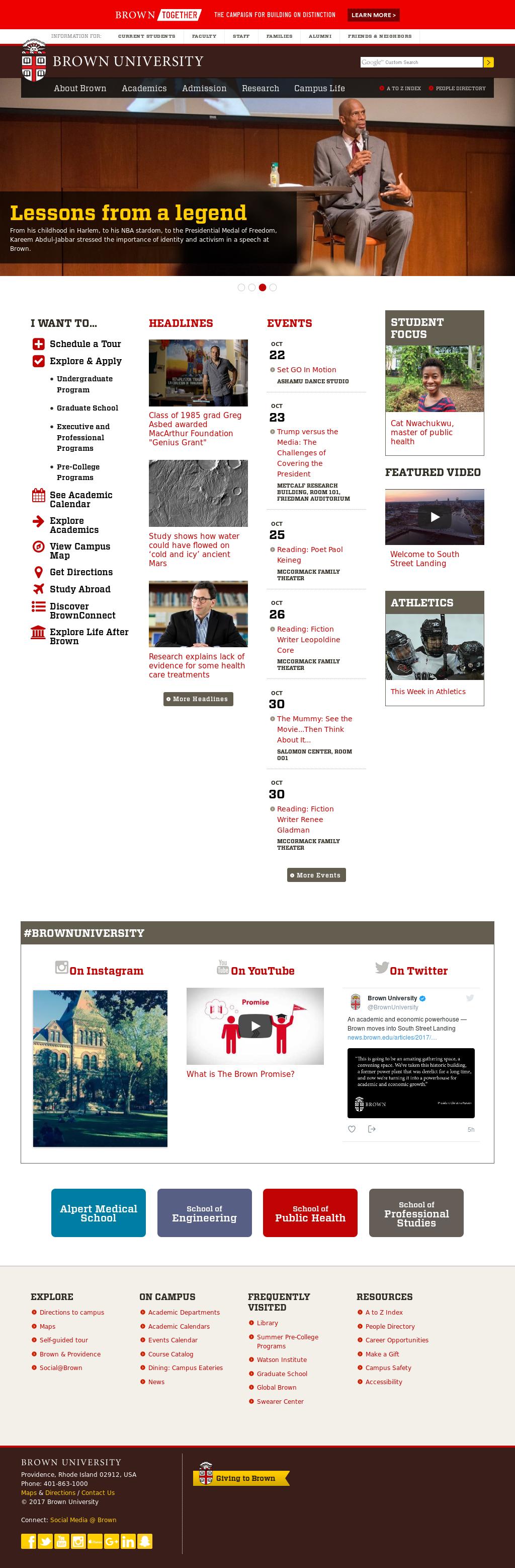 Brown university dating website