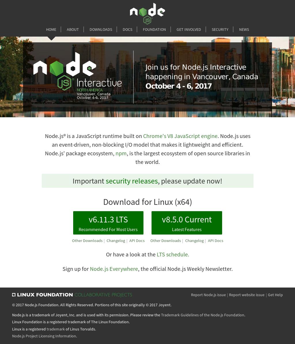 Owler Reports - Node Blog Node v10 0 0 (Current)