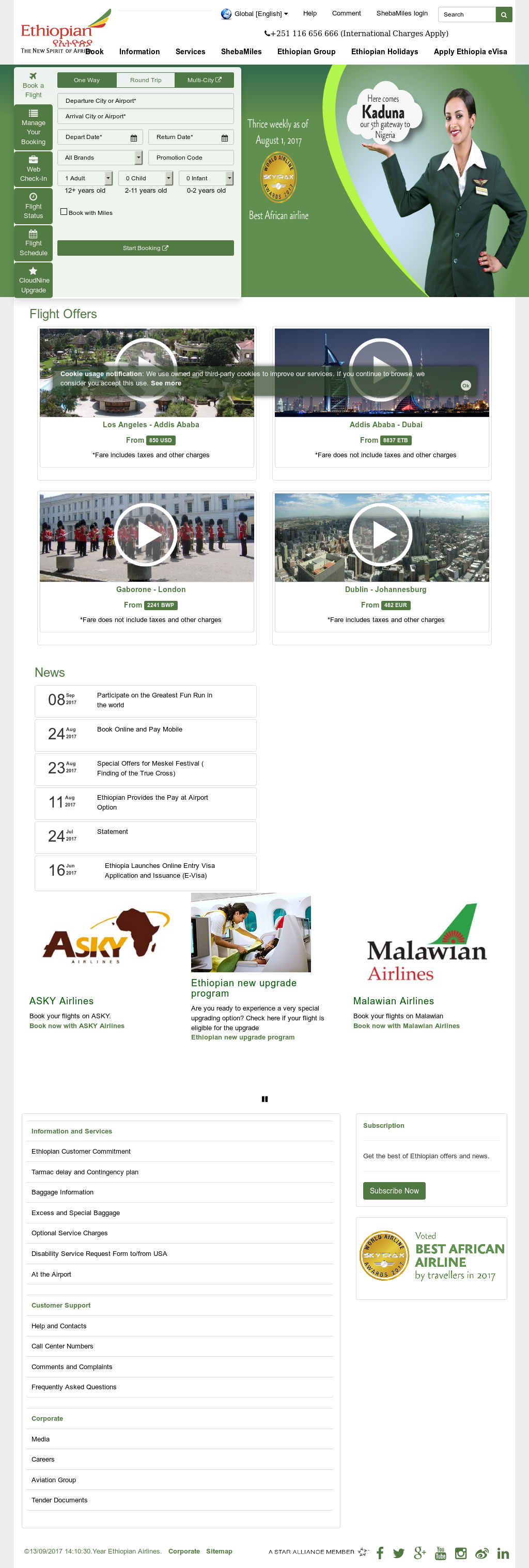 Ethiopian Competitors, Revenue and Employees - Owler Company Profile