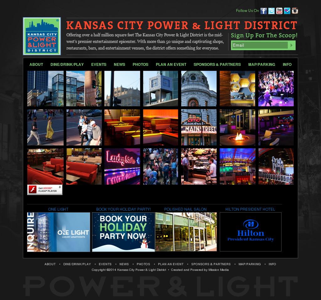 KC Power & Light District Competitors, Revenue And