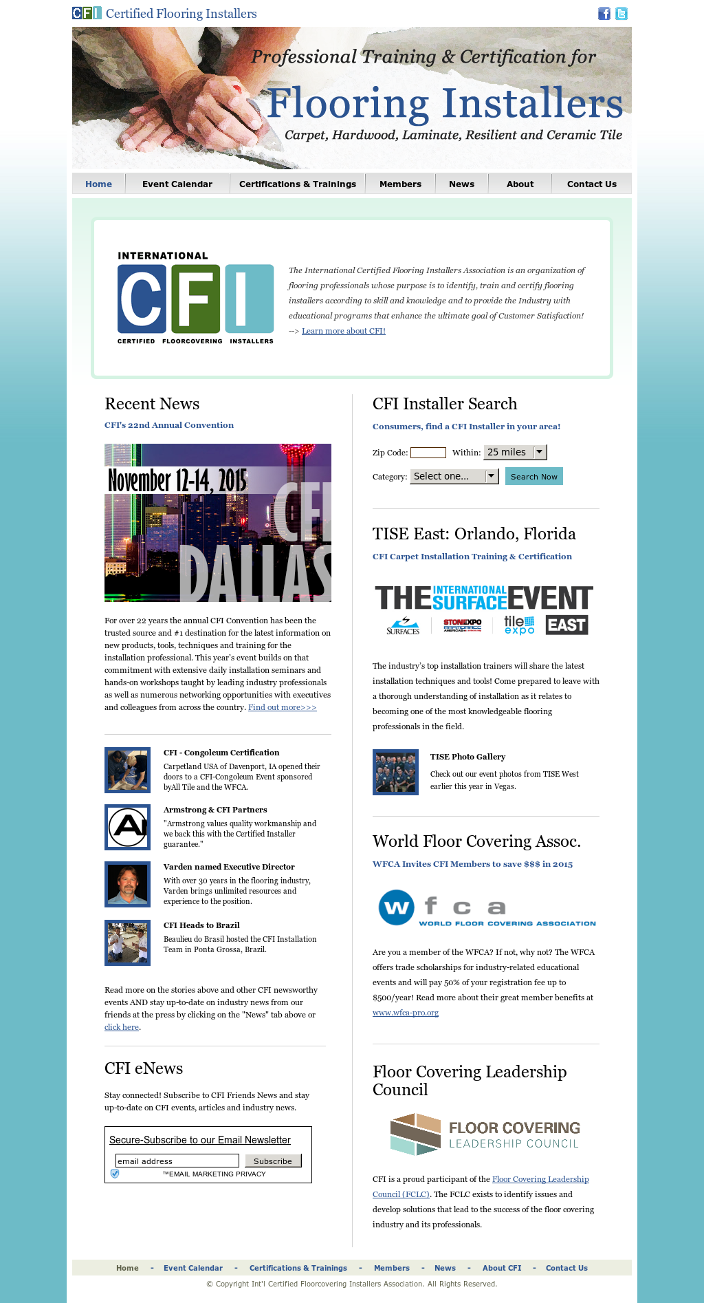 Cfi Certified Floorcovering Installers Association Competitors