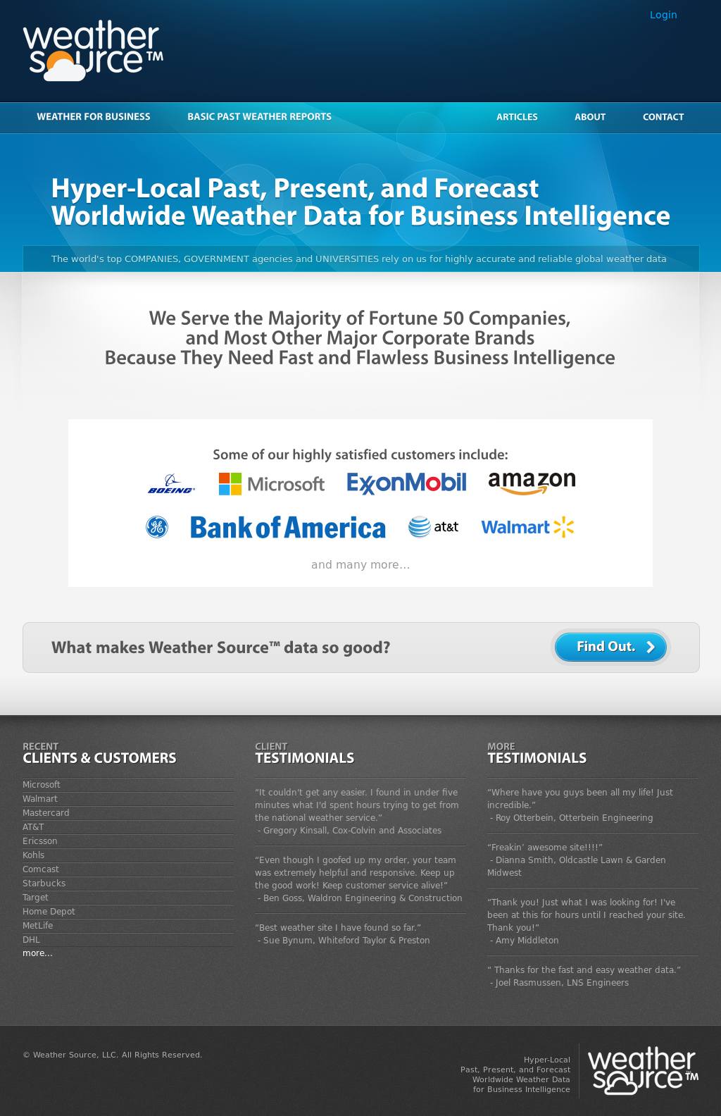 Weather Source Competitors, Revenue and Employees - Owler Company