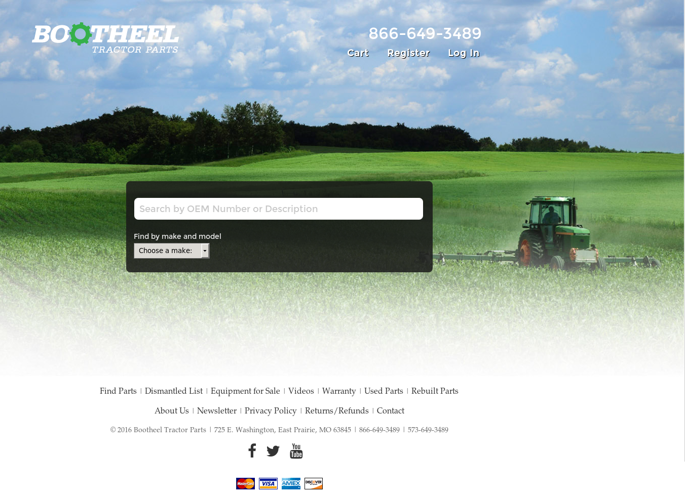 Bootheel Tractor Parts Competitors, Revenue and Employees