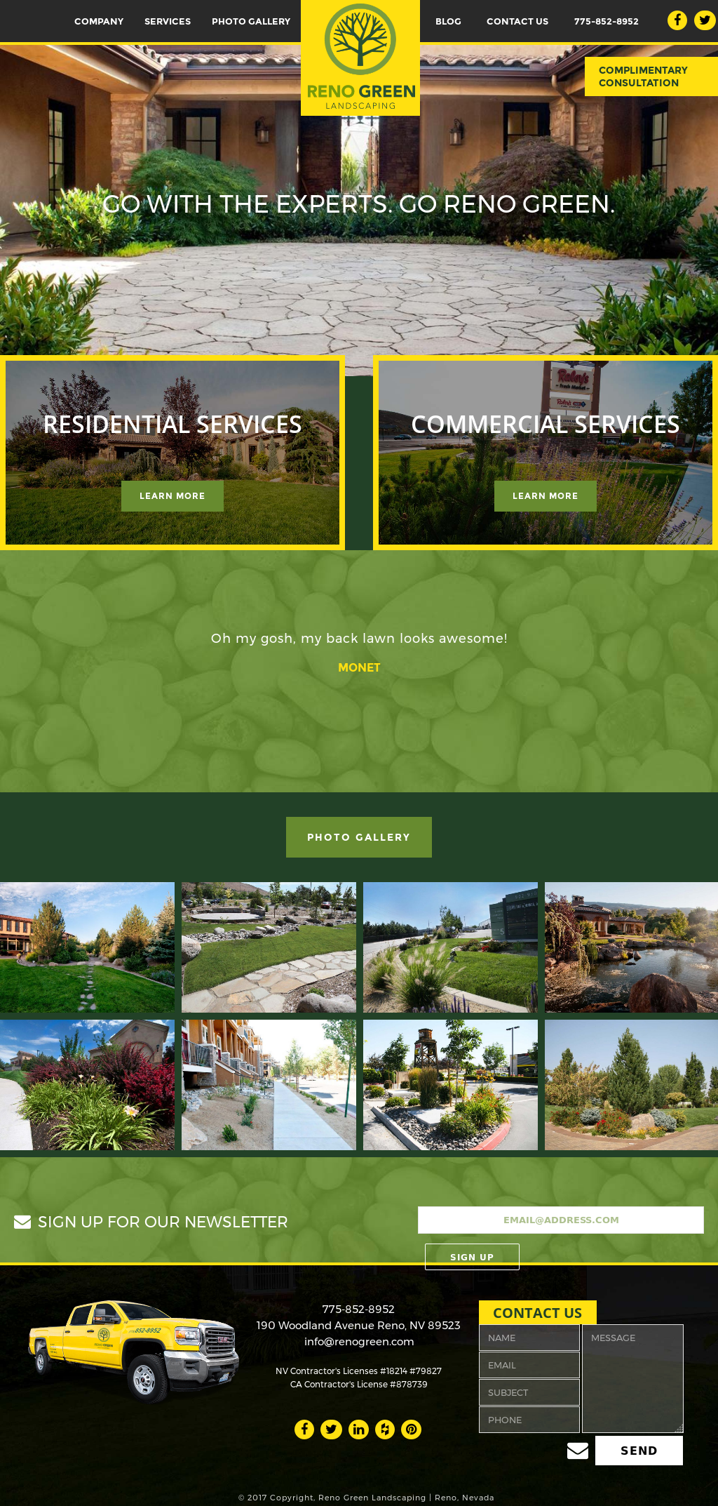 Reno Green Landscaping website history - Reno Green Landscaping Competitors, Revenue And Employees - Owler