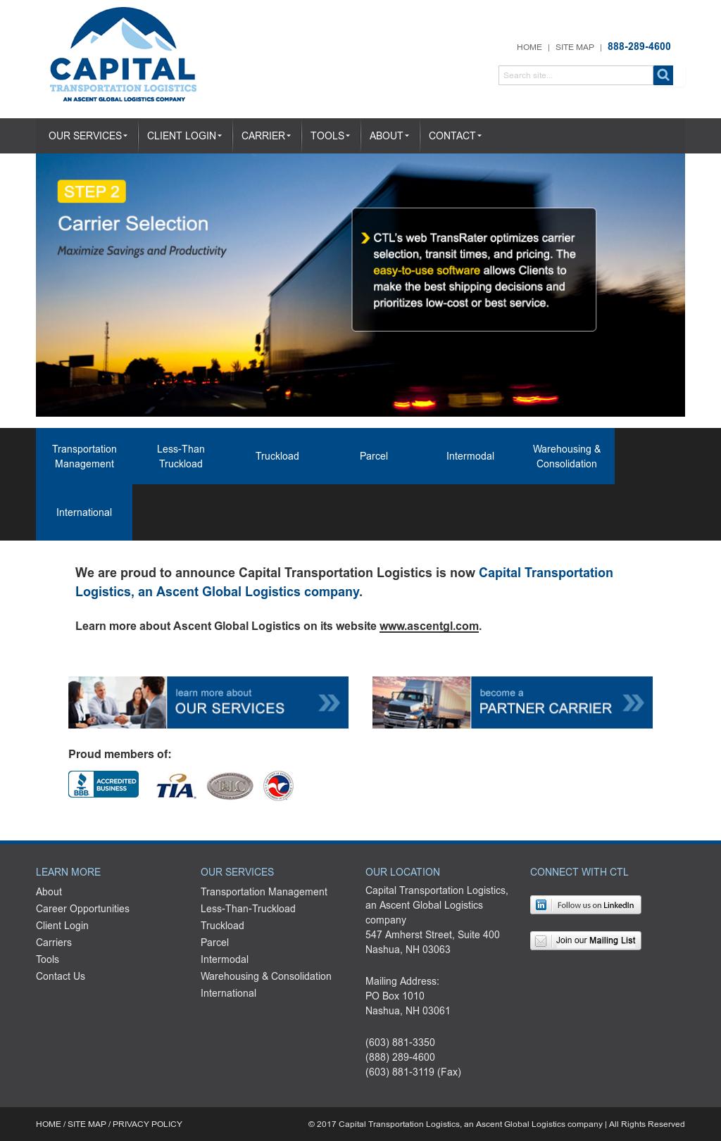 Capital Transportation Logistics Competitors, Revenue and