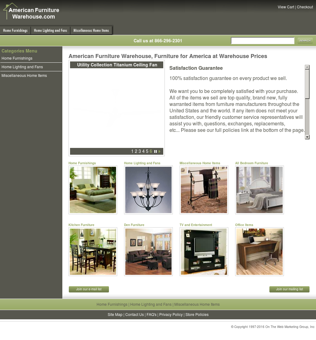 American Furniture Warehouse Competitors, Revenue And