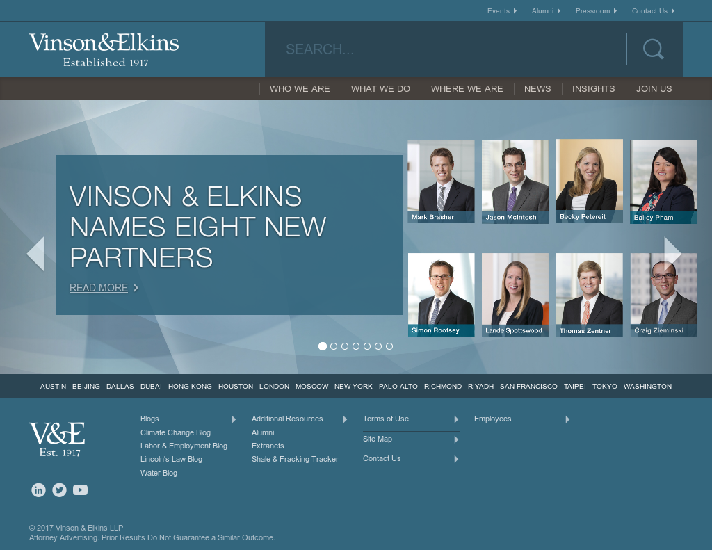 Vinson & Elkins Competitors, Revenue and Employees - Owler