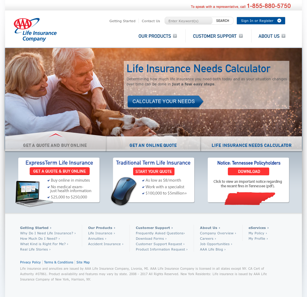 Aaa Life Insurance Payment